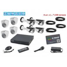 Комплект видеонаблюдения VSD-N6S13/471W2/430W2.200