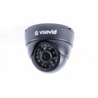Видеокамера VSD-I612B1 Black