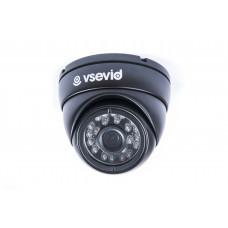 Видеокамера VSD-I712B1-A Black
