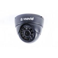 Видеокамера VSD-I612B1-P Black