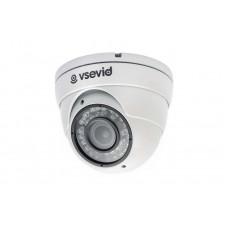 Turbo HD-TVI Видеокамера VSD-U814D1 White