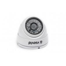HDCVI Видеокамера VSD-U715B1 White